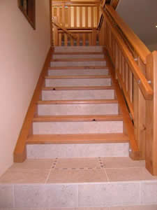 Ceramic, Porcelain, & Stone Floors and Stairs five