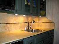 Tile/Stone kitchens 40
