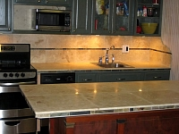 Tile/Stone kitchens 48
